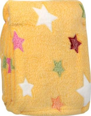 MeeMee Printed Single Blanket Yellow