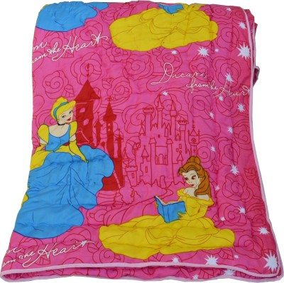 Deals For Bulk Cartoon Single Quilts & Comforters Pink