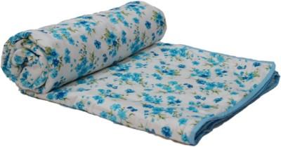 Snuggle Floral Single Blanket Multicolor