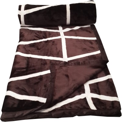 Welhouse Abstract Double Blanket Brown