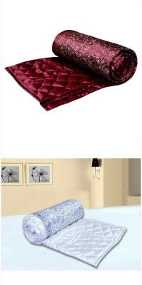 Chelsi Printed Double Quilts & Comforters Multicolor