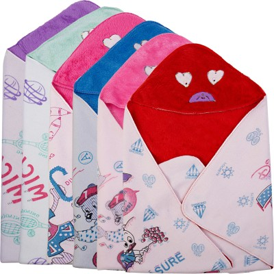 Utc Garments Cartoon Single Blanket Red, Pink, Green, Blue, Purple