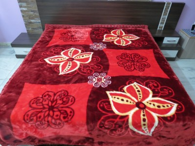 Florida Geometric Double Blanket Red