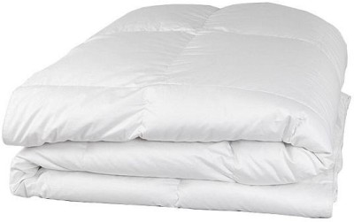LNT Plain Double Quilts & Comforters White