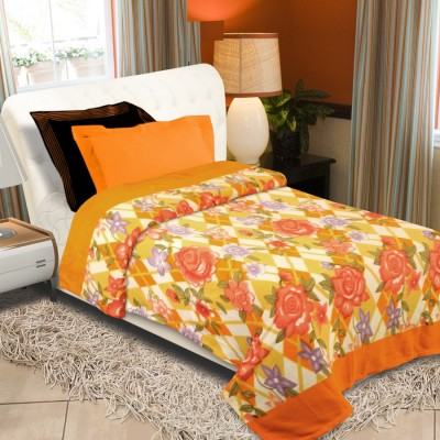 Laura Floral Double Quilts & Comforters Multicolor(Blanket)