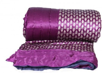 Cat Eye Export Floral King Top Sheet Purple
