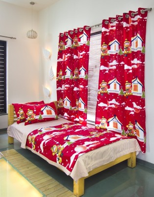 Aurraa Cartoon Single Quilts & Comforters Red