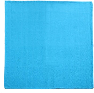 Saral Home Plain Double Throw Turquoise