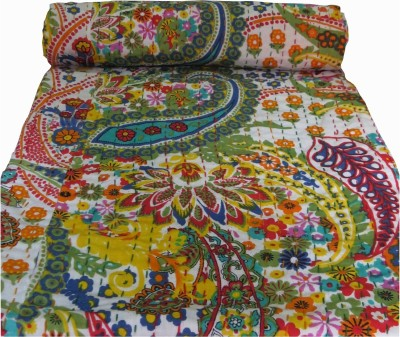 HAG Art and Craft Abstract Double Quilts & Comforters Multi-Colour