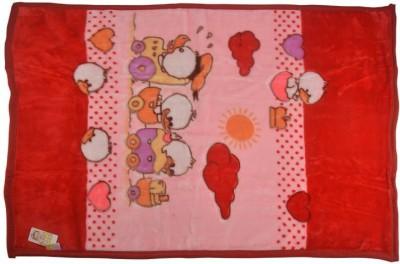 MeeMee Cartoon Single Quilts & Comforters Red