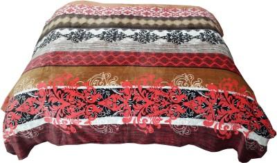 Welhouse Striped Double Blanket Beige