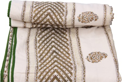 Chhipa Prints Paisley Double Quilts & Comforters Multicolor