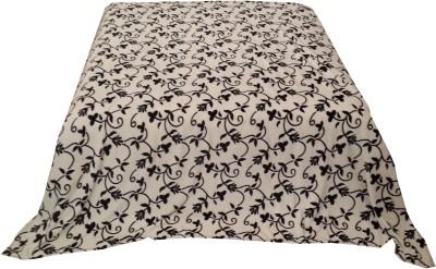 Welhouse Floral Single Blanket White