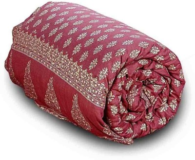 Home India Paisley Double Quilts & Comforters Red