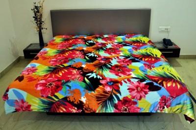 Welhouse Floral Double Blanket Multicolor