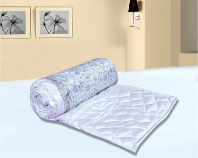 Urban Style Floral Double Quilts & Comforters White