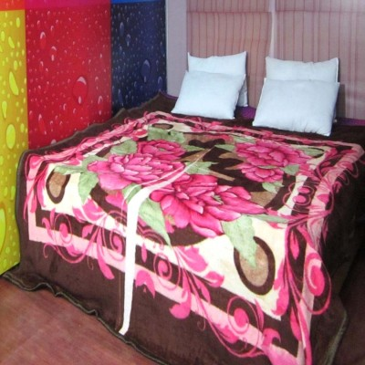 Unnati Floral Double Blanket Multicolor