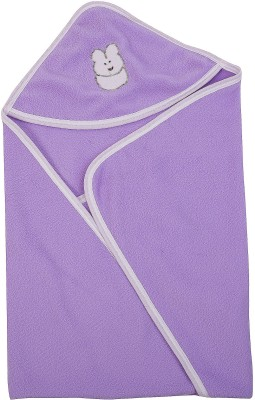 Utc Garments Plain Single Blanket Purple, Light Purple, White