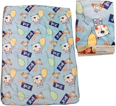 Baby Basics Cartoon Single Blanket Blue