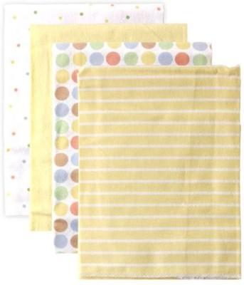 Luvable Friends Striped, Polka Single Blanket Yellow