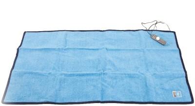 Jsb Plain Single Electric Blanket Blue