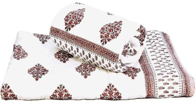 Home India Embroidered Double Quilts & Comforters Red