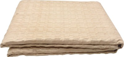 Milano Home Geometric Single Quilts & Comforters Beige