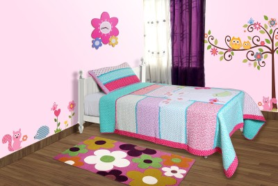 Baby Oodles Embroidered Single Blanket Multicolor