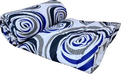 El Sandlo Abstract Double Quilts & Comforters Multicolour