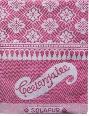 Geetanjalee Floral Single Top Sheet Pink