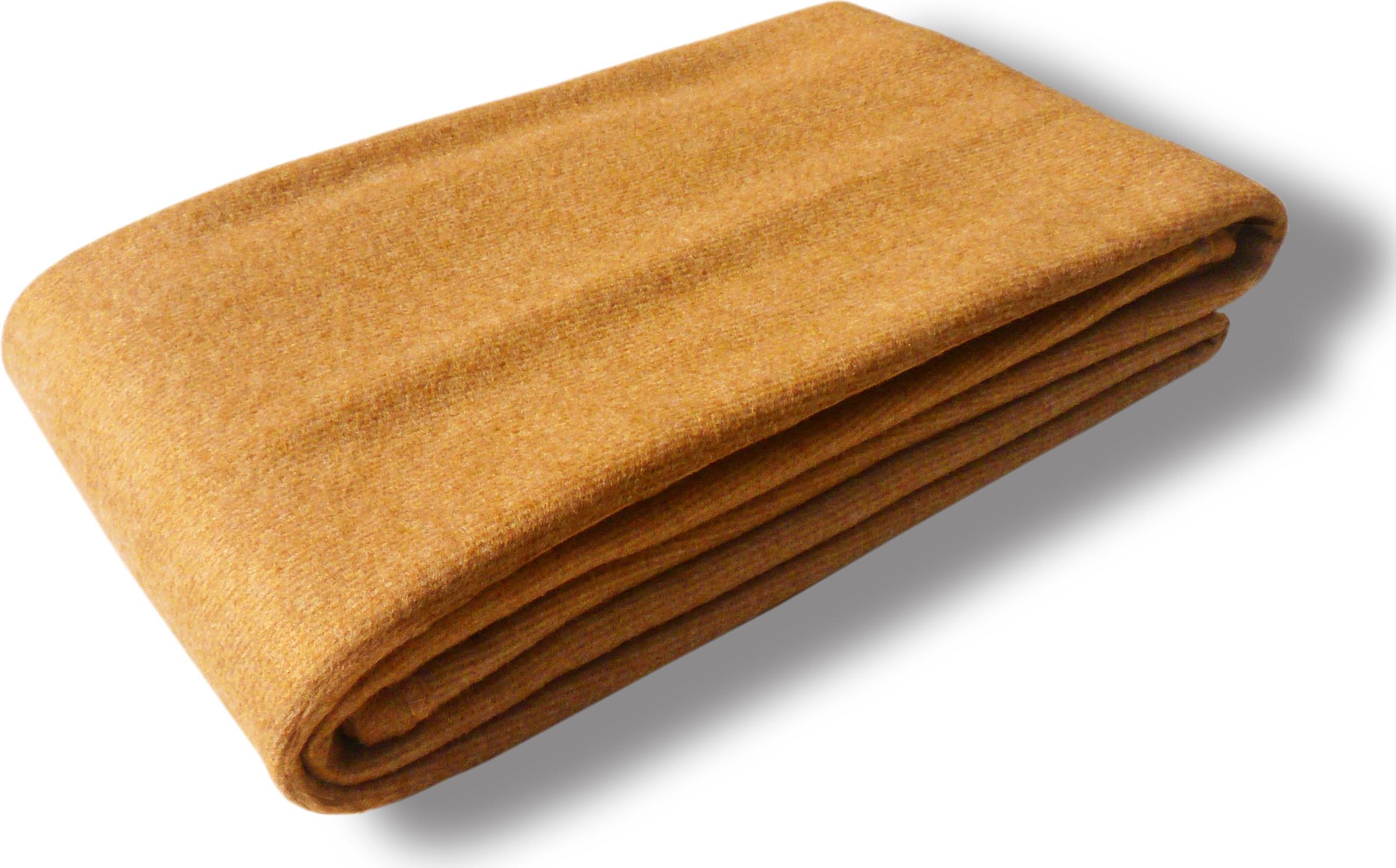 Vertex Plain Single Blanket Gold