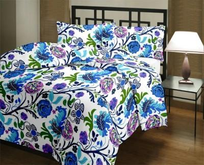 JK Bed Cover Printed Single Dohar Multicolor