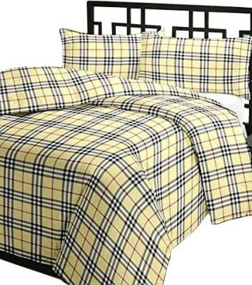 Renown Checkered Single Blanket Beige