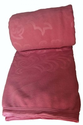 Kotcosy Striped Double Blanket Pink