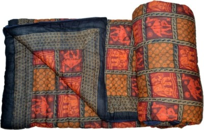 Shopper Space Printed Double Quilts & Comforters Multicolor