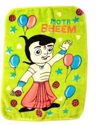 Jain International Cartoon Single Blanket Green