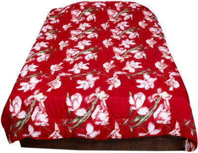 IndiWeaves Printed Double Quilts & Comforters Red