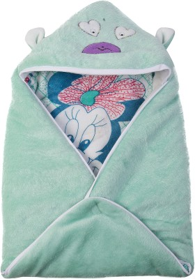 Utc Garments Cartoon Single Blanket Light Green, White, Black, Red