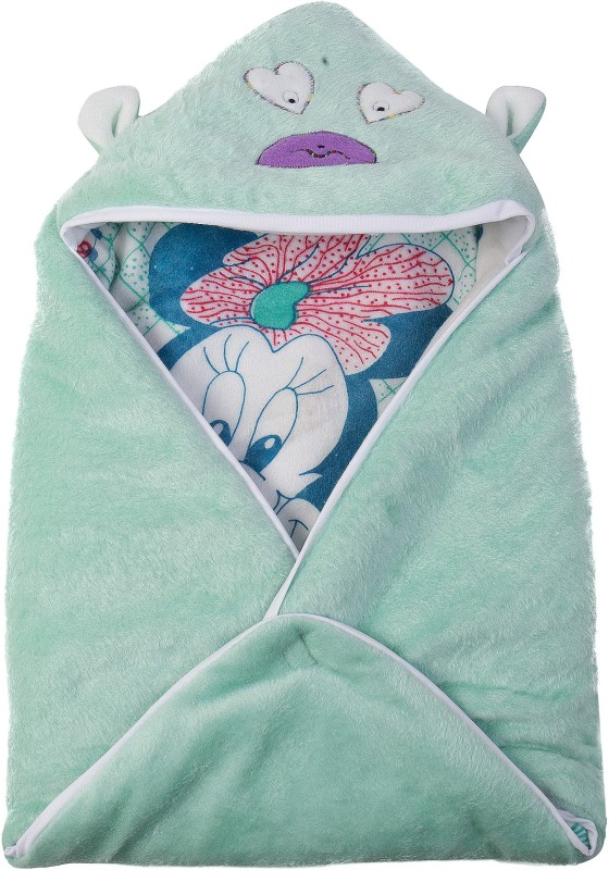 Utc Garments Cartoon Single Blanket Light Green, White, Black, Red(1 Blanket)