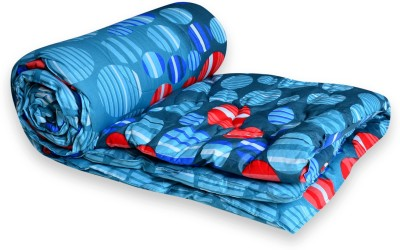 El Sandlo Abstract Double Quilts & Comforters Multi Colour