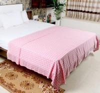Mosgard Geometric Single Blanket Pink(1 Blanket)