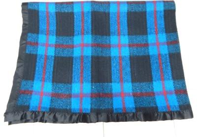 Peponi Checkered Single Blanket Multicolor