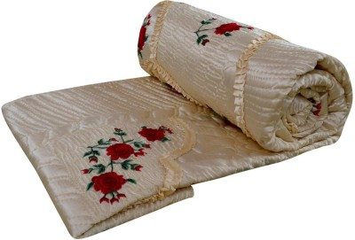 Rangasthali Embroidered Double Quilts & Comforters Yellow