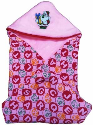 Brandonn Polka Single Blanket Pink