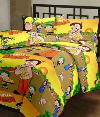 Creative Art Cartoon Single Blanket Multicolor