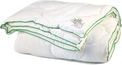 Kiaana Plain Single Quilts & Comforters White