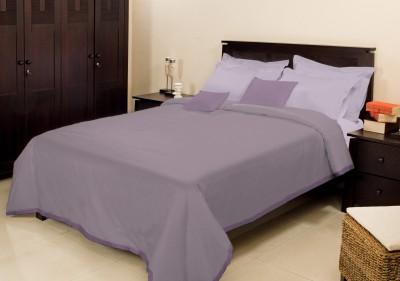 Bombay Dyeing Plain Single Blanket Purple