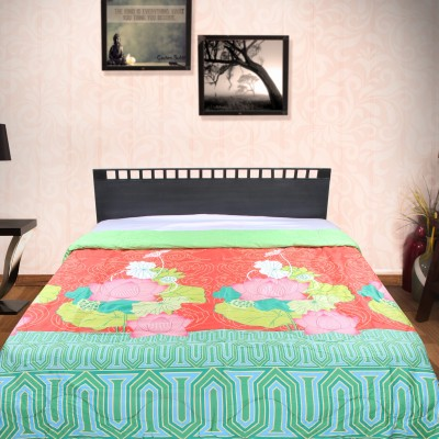 Portico New York Printed King Quilts & Comforters Red