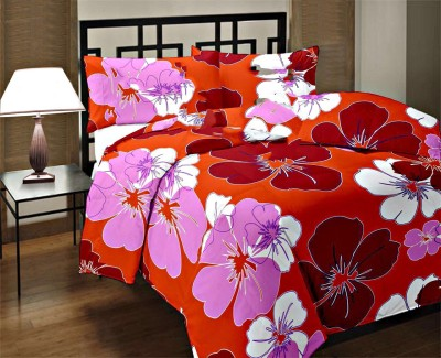Factorywala Floral Single Dohar Red