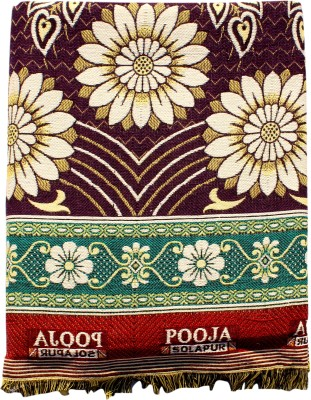 Mandhania Floral Double Blanket Multicolor